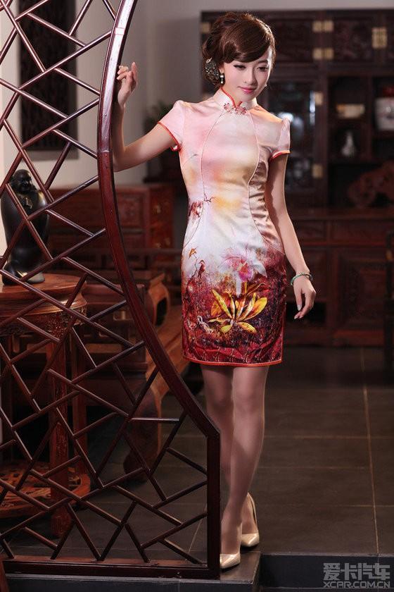 【精华】高贵华丽旗袍美女