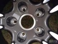 出一套21寸保时捷卡宴原装进口轮毂钢圈胎龄