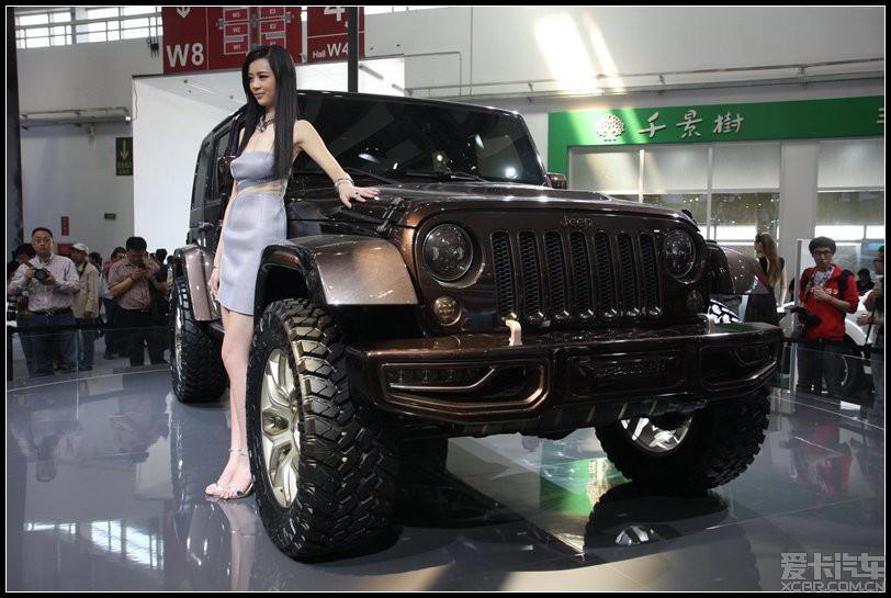 孤胆游侠 灵动 却不失豪迈 北京车展看jeep新高清图片