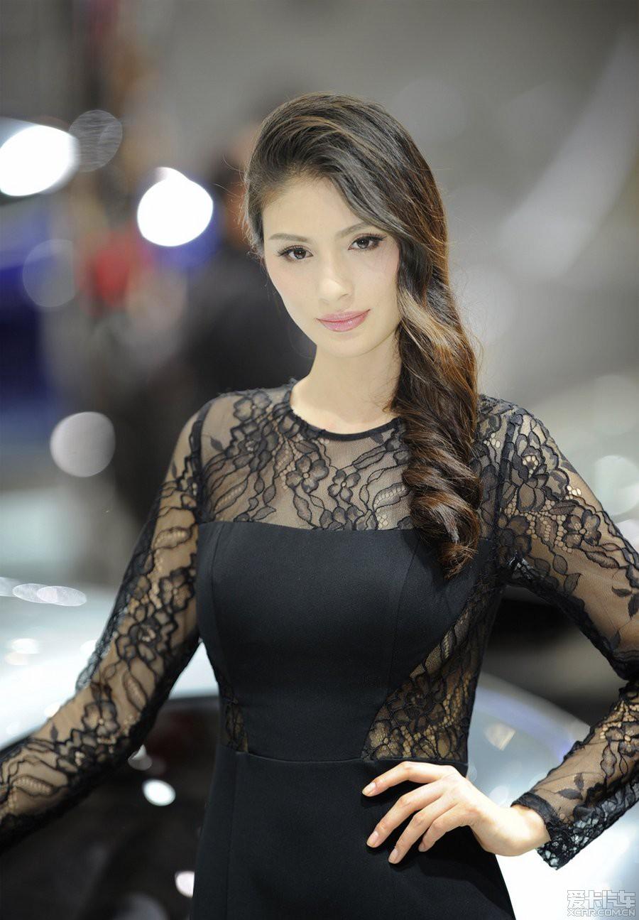 2014年北京车展高清美女图集 竖