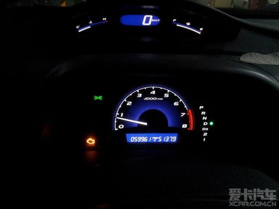 本田思域的油耗问题高清图片