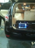 雷克萨斯270音响改装-电脑测试-温州罗声弗制造