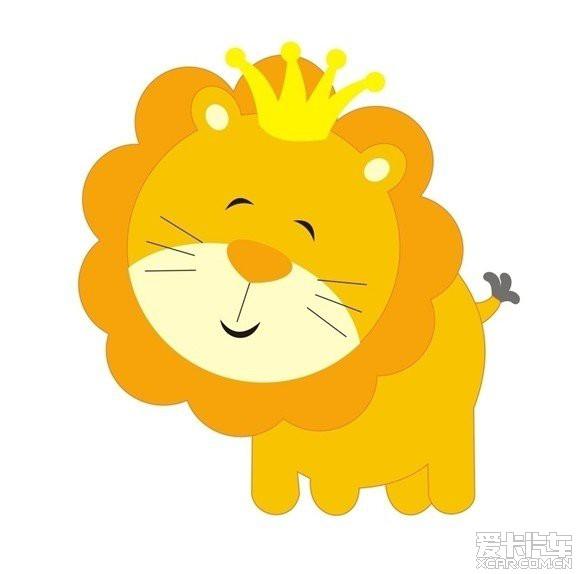 超级小可爱的狮子,这张像不像狮子版版呢?