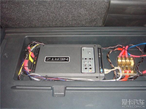 丰田RAV4净高改装v净高--西安上尚汽车音响_汽图纸查音响图片