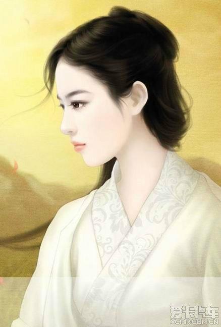 【精华】【古代美女手绘图】