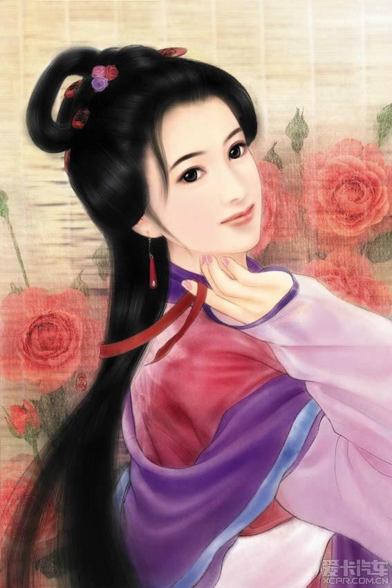 【古代美女手绘图】_第2页