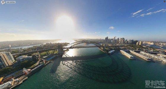 城市360度全景图!