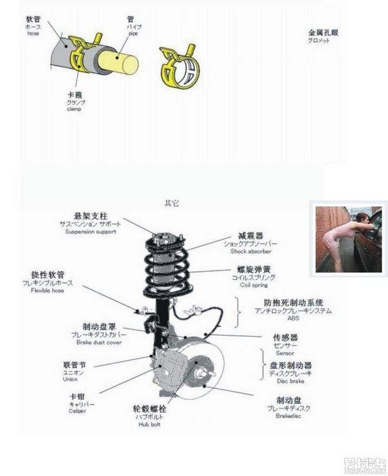 2、车辆的排气管排出蓝色的烟雾: 故障判定:真故障。 原因分析:是由于大量机油进入气缸,而又不能完全燃烧所致。拆下火花塞,即可发现严重的积炭现象。需检查机油尺油面是否过高;气缸与活塞间隙是否过大;活塞环是否装反;进气门导管是否磨损或密封圈是否损坏;气缸垫是否烧蚀等,必要时应予以修复。