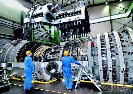 通用电气ge90-115b超级航空发动机图片