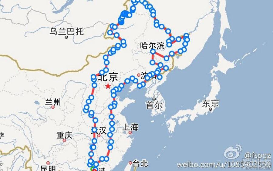 大庆到青岛地图