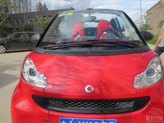 出售smart,2010年敞篷的,红色,长春地区
