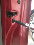 拆了车锁支架