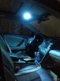 凯美瑞改装氛围灯、牌照灯、门灯
