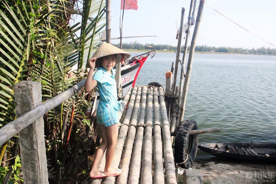 在越南岘港去迦南岛玩,很好玩.
