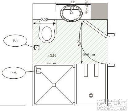 请教个装修问题:卫生间同时安装马桶和蹲便有没成功案例