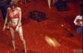 这个太狠了!满身红!北京首届西红柿大战