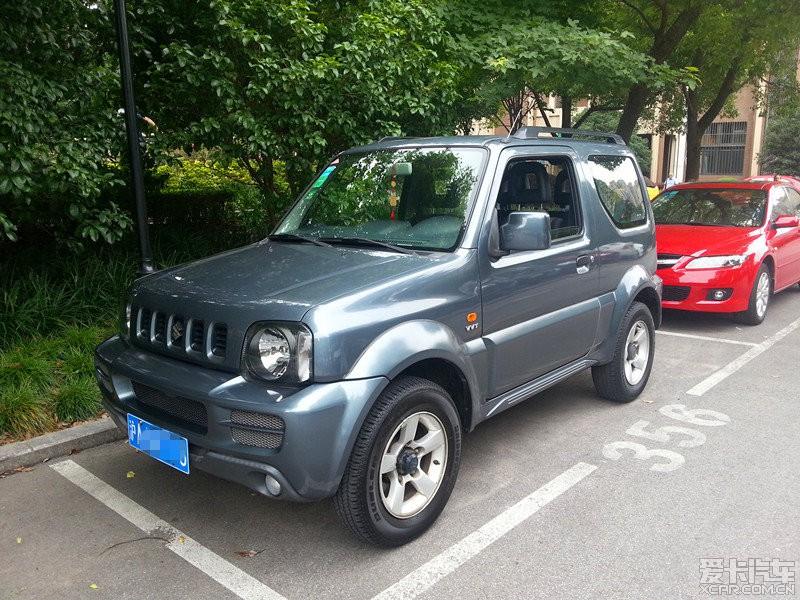 崭新车况的吉姆尼转让(私人接送小孩使用)上海