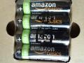 买了四节AmazonBasics镍氢预充电可充电电池