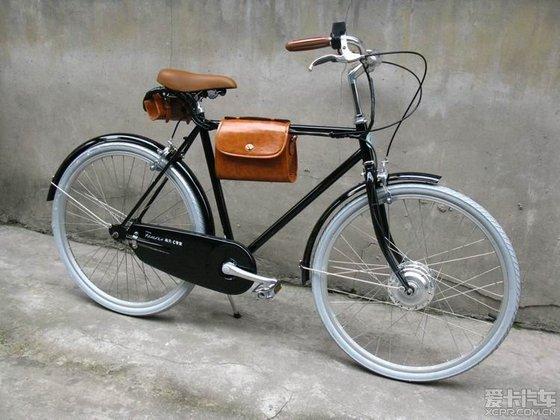 永久c复古自行车 改装电动车 爱卡汽