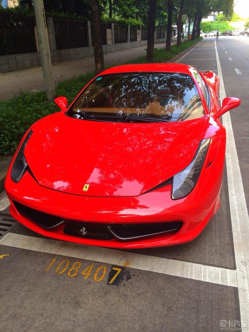 法拉利法拉利458 italia 2011款 4高清图片