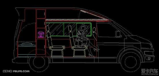 房车俱乐部布局设计图展示