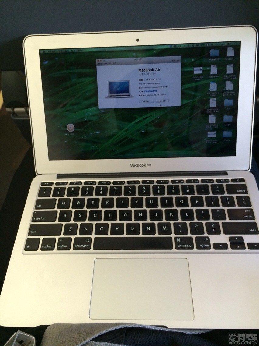 > mac air mc968苹果笔记本转让(降价了)