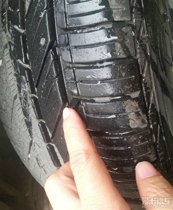 图便宜买轮胎,结果杯具了。_上海论坛_XCAR