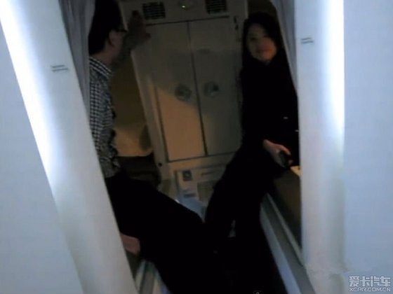 见过空姐们在飞机上的宿舍么?