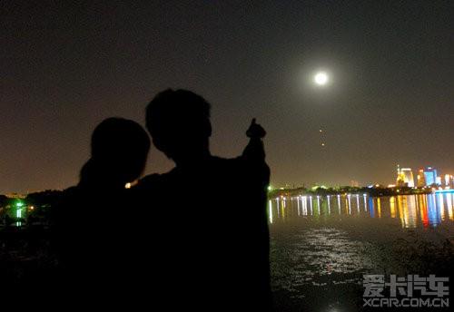 中秋月亮意境图