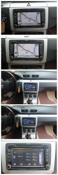 迈腾影音改装歌乐NX403CBR专车专用DVD导航