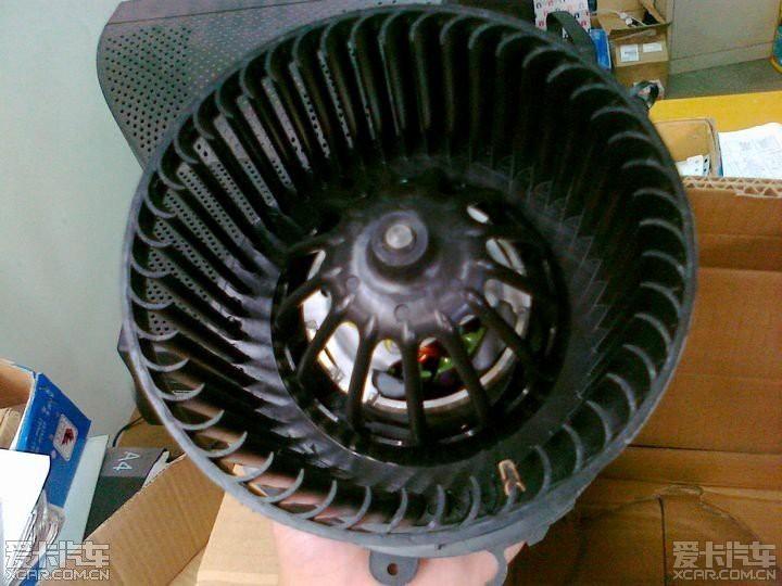 标致206 空调鼓风机拆装维护经验交流!diy
