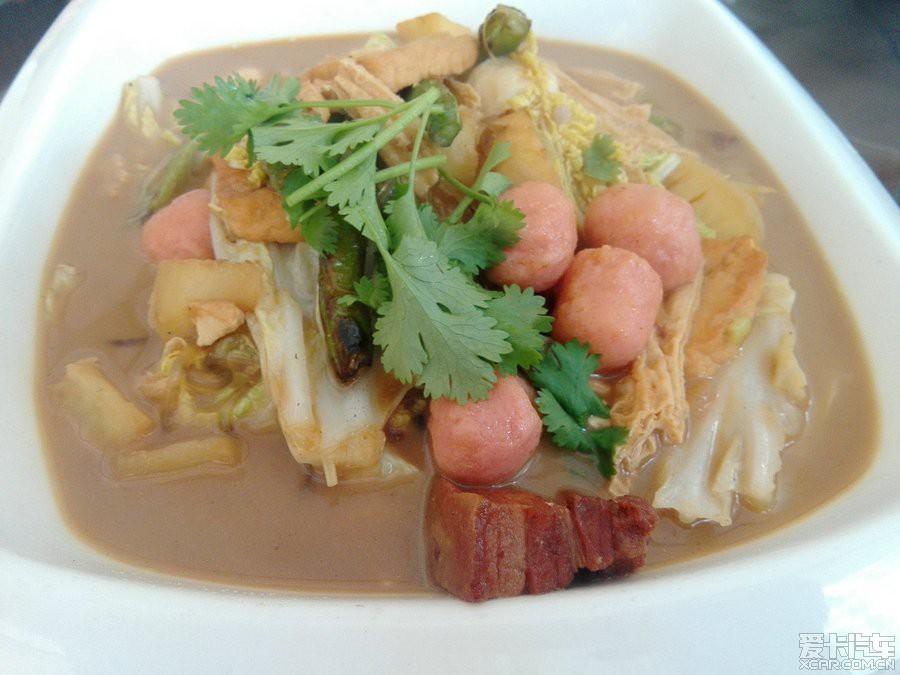 工作时和同事介绍国有餐厅禾谷园。_爱卡吃坛美食文化重庆小聚图片