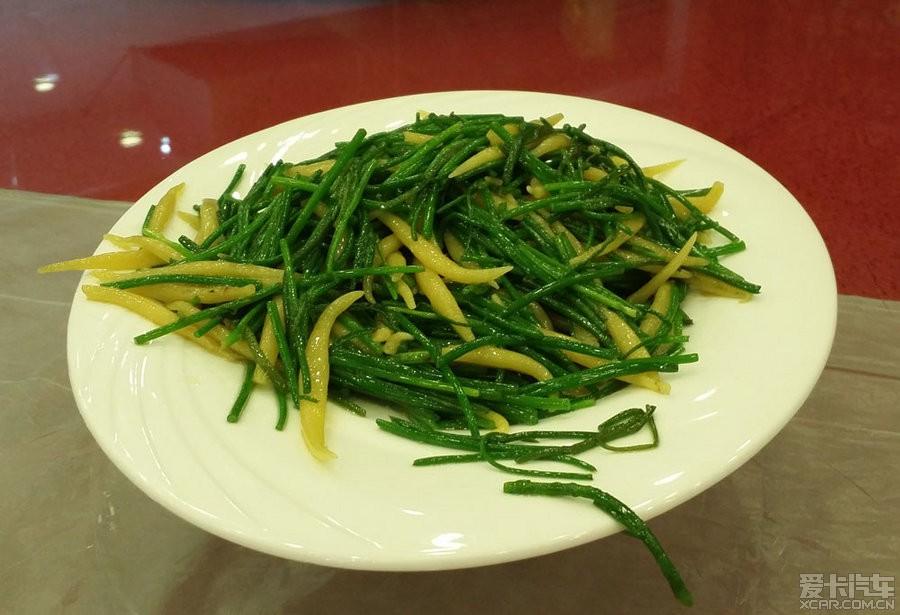 炒玉米江豆,色彩搭配