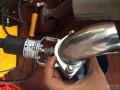 泰州新蒙迪欧改灰机排气阀门视频图片攻略