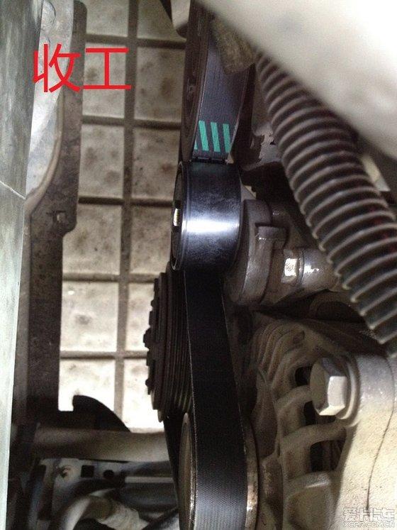 6换发电机皮带,涨紧轮(替代供参考)_标致