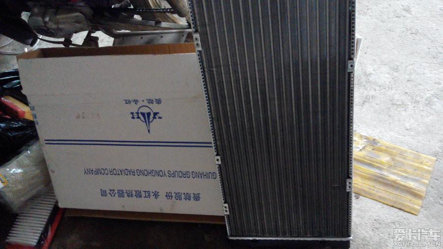 更换原厂水箱,喷水电机 高清图片