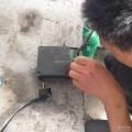 ABS故障灯亮,再次焊接ABS泵线路板多针脚、、、、
