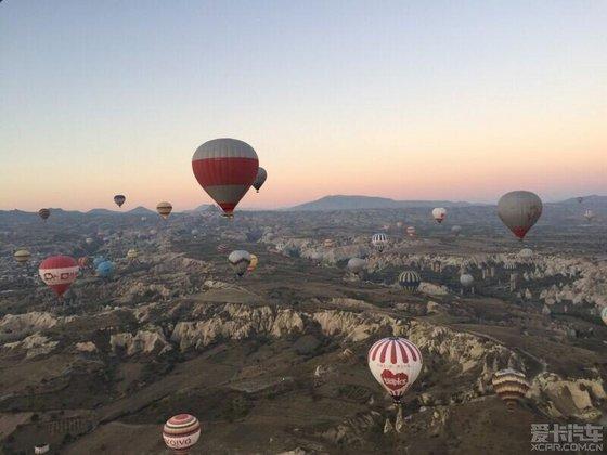 土耳其热气球之旅_爱卡汽车