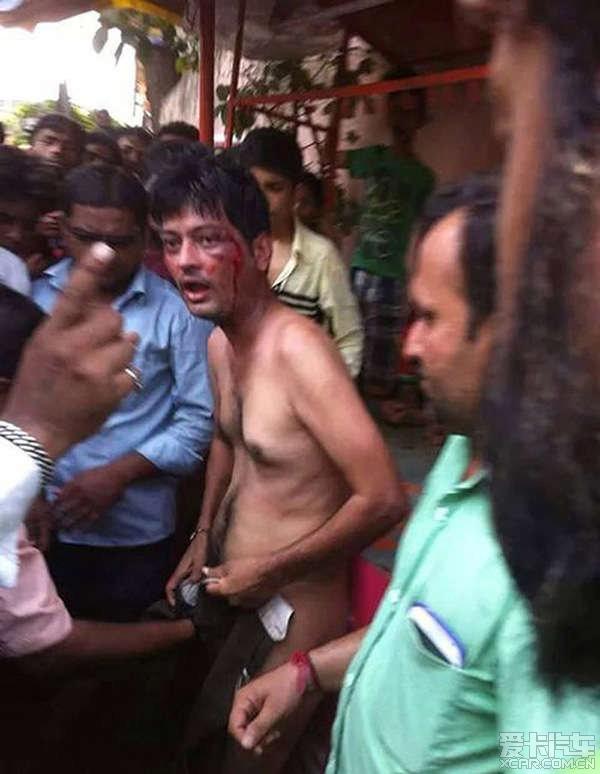 印度一男子袭击少女未遂 被愤怒民众用屠阉