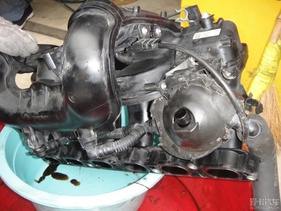 > 专业宝马维修技师分享大片—宝马n52发动机烧机油解体大修图片