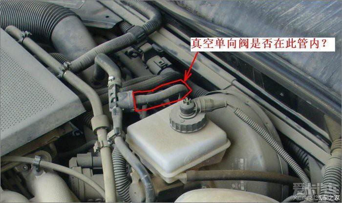 等红灯时拉手刹感觉刹车踏板自己向下动-------什么问题?图片