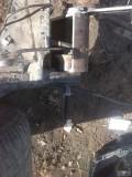 捷达后桥胶套拆卸