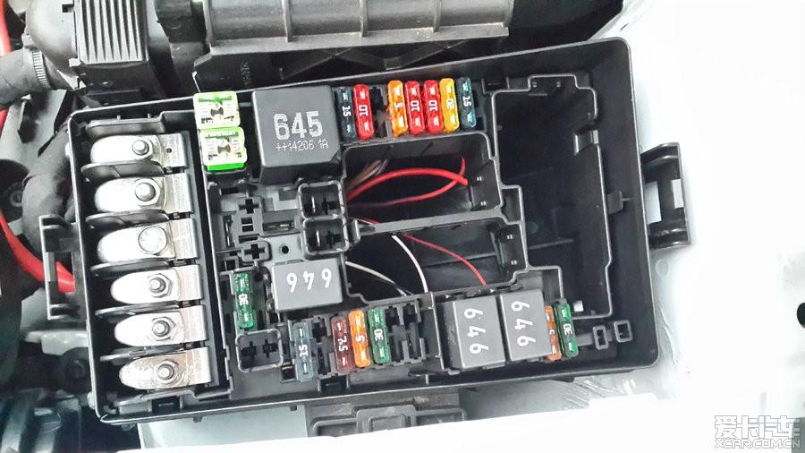 【分享帖】高尔夫7行车记录仪接保险盒安装布线详细教程,方便大家!