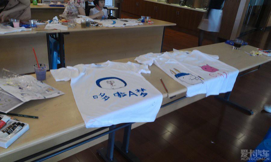 【精华】参加手绘t恤亲子活动
