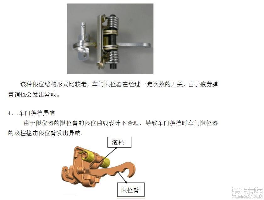 起亚汽车限位器异响 限位器异响怎么解决图片