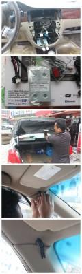 广州车展别克凯越音响改装歌乐主机NX403CII音质型导航机