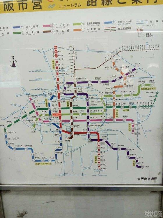 东京地铁线路图图片