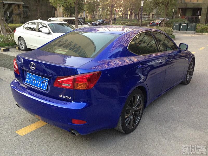 ﹙上海﹚出售 07款雷克萨斯IS300 炫动版 二手高清图片