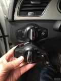 福州车友奥迪A4L升级自动大灯、刷隐藏