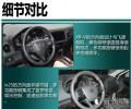 XR-V的方向盘设计与飞度相似iX25的多功能方向盘手感不错